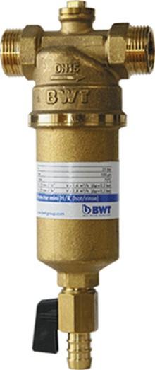 """Предфильтр BWT Protector Mini ГВ 1/2"""" прямая промывка"""