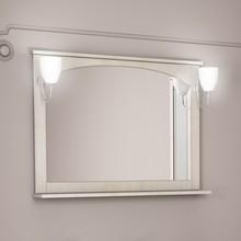 Зеркало Dreja.eco Antia 105 с полочкой, капучино