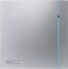 Вытяжной вентилятор Soler&Palau Silent 100 CZ Design silver