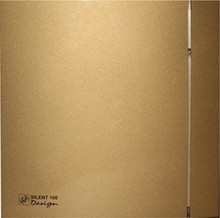 Вытяжной вентилятор Soler&Palau Silent 100 CZ Design-4C gold 5 сменных полосок