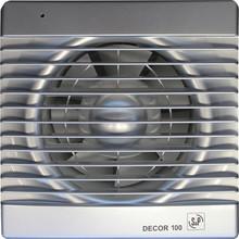 Вытяжной вентилятор Soler&Palau Decor 100C silver
