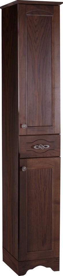 Шкаф-пенал ASB-Woodline Римини Nuovo 30 антикварный орех