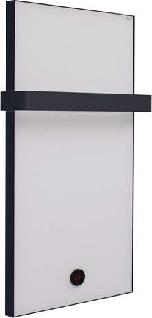 Полотенцесушитель электрический De Aqua 50x100 белое стекло