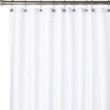 Штора для ванной Carnation Home Fashions Nylon Liner White защитная