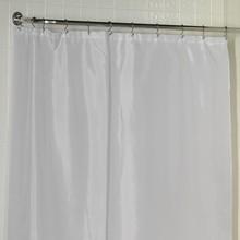 Штора для ванной Carnation Home Fashions Long Liner White защитная