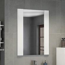 Зеркало Comforty Флоренция 60 белый глянец