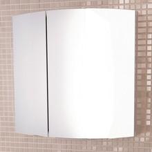 Зеркало-шкаф Comforty Лаура 60-2 белый глянец