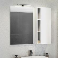 Зеркало-шкаф Comforty Милан 90 белый глянец