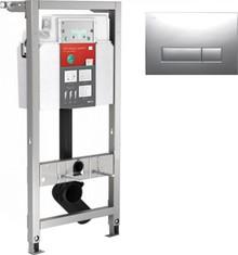 Система инсталляции для унитазов Mepa VariVIT P3 512319 3 в 1 с кнопкой смыва
