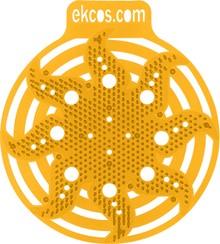 Ароматическая сетка для писсуара Ekcos Powerscreen tropical fruit, 2 шт