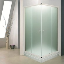 Душевой уголок De Aqua K100100MT-W 100х100, стекло матовое