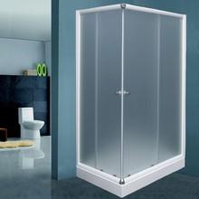 Душевой уголок De Aqua K12080MT-W 120х80, стекло матовое