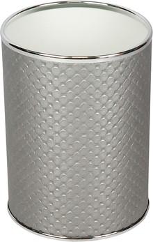 Мусорное ведро Geralis M-PHH-B серебро, хром, 3 л
