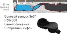 Душевой лоток Berges Wasserhaus B1 Keramik 090116 50 см