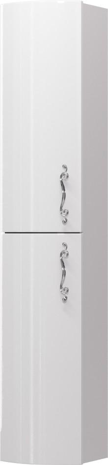 Шкаф-пенал Aima Design Amethyst 30П L white, выпуклый