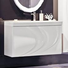 Тумба с раковиной Aima Design Mirage 90 white