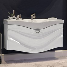 Тумба с раковиной Aima Design Eclipse 110 white