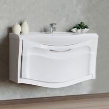 Тумба с раковиной Aima Design Sunrise 100 white