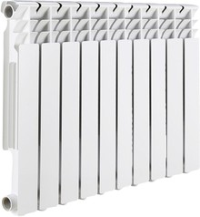 Радиатор биметаллический Rommer Optima Bm 500 10 секций