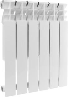 Радиатор алюминиевый Rommer Plus 500 6 секций