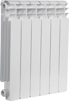 Радиатор алюминиевый Sira Emilia 500 6 секций