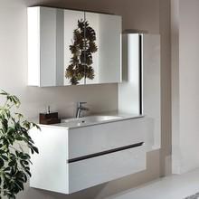 Мебель для ванной Armadi Art Vallessi 100 белый глянец