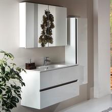 Мебель для ванной Armadi Art Vallessi 80 белый глянец