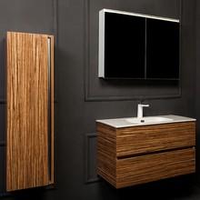 Мебель для ванной Armadi Art Vallessi 80 зебрано