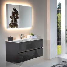 Мебель для ванной Armadi Art Vallessi 100 антрацит