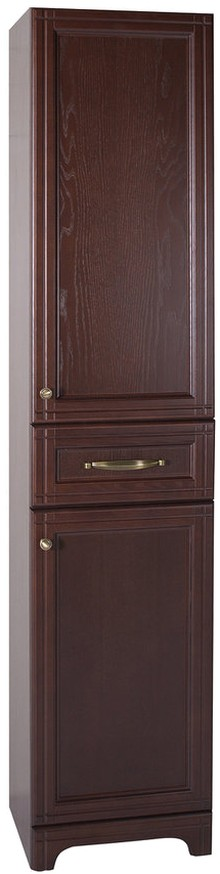 Шкаф-пенал ASB-Woodline Берта 40 антикварный орех
