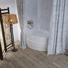 Штора для ванной Aima Design У37612 200x240, двойная, белая