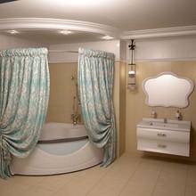 Штора для ванной Aima Design У37613 240x240, двойная, бирюзовая