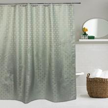 Штора для ванной Bath Plus Decor collection JAC1501 180x200, зеленая