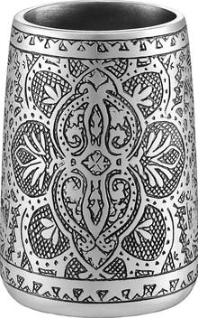 Стакан J. Queen New York Colette 2062046TUMBL для зубной пасты, серый