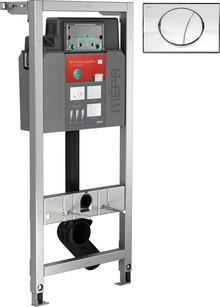 Система инсталляции для унитазов Mepa VariVIT A31 512318 с кнопкой смыва Sun хром