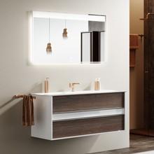 Мебель для ванной Clarberg Evolution 100 крафт темный