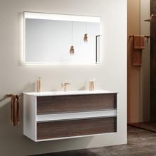 Мебель для ванной Clarberg Evolution 120 крафт темный