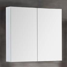 Зеркало-шкаф Dreja Premium 80 белый глянец