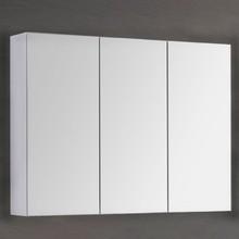 Зеркало-шкаф Dreja Premium 100 белый глянец