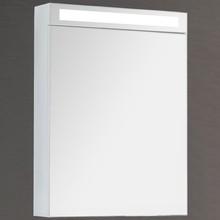 Зеркало-шкаф Dreja Max 60 с подсветкой, белый глянец