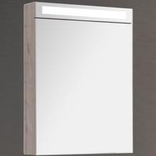 Зеркало-шкаф Dreja Max 60 с подсветкой, дуб кантри