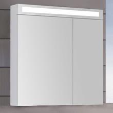 Зеркало-шкаф Dreja Max 80 белый глянец, с подсветкой