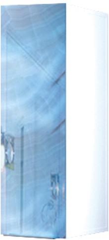 Шкаф Marka One Liriya 25П blue marble, L