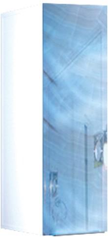 Шкаф Marka One Liriya 25П blue marble, R