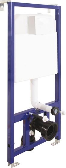 Комплект безободковый унитаз и инсталляция с клавишей  Berges Wasserhaus 042215