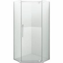 Душевой уголок пятиугольный Erlit Comfort  ER 10110V-C1 100х100 прозрачное стекло