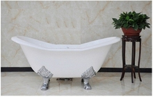 Чугунная ванна Magliezza Julietta 183x78 (ножки хром)