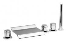 Каскадный смеситель Vega GRAND Lux (5 отверстий) 91А0105025 на борт ванны