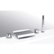 Каскадный смеситель Vega GRAND Lux (4 отверстия) 91А1725125 на борт ванны