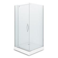 Душевой уголок Alex Baitler AB 214-90 90х90 профиль Хром стекло прозрачное
